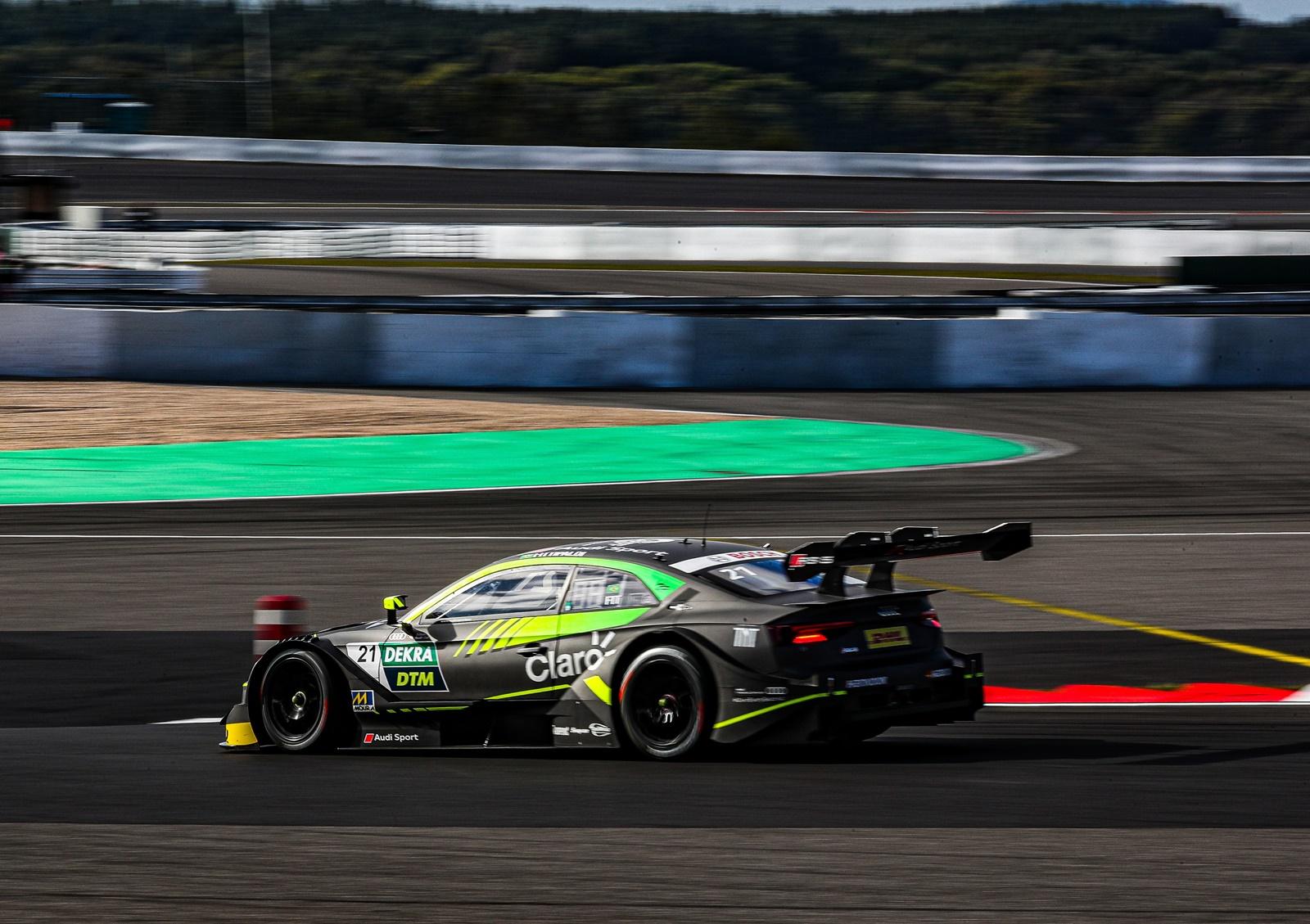 Photo of DTM – Pietro Fittipaldi fecha treinos livres da DTM no top-10 em Nurburgring