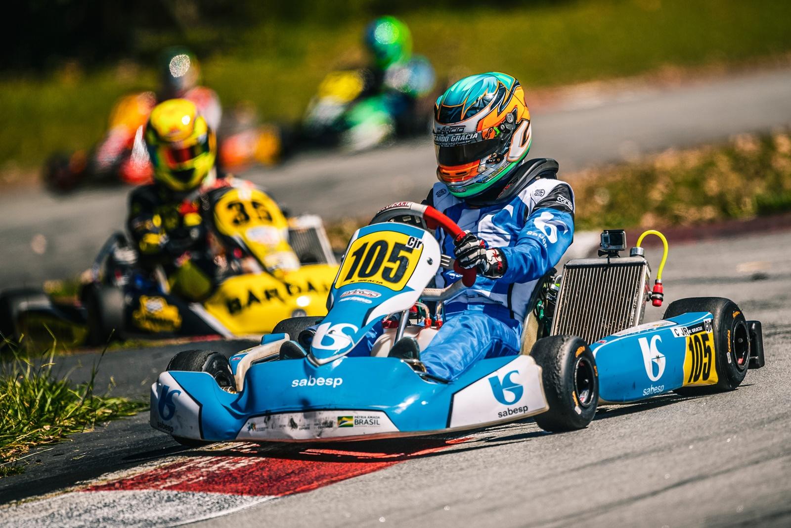 Photo of Kart – Ricardo Gracia vence duas corridas na Copa Interlagos de Kart e fica com título da etapa