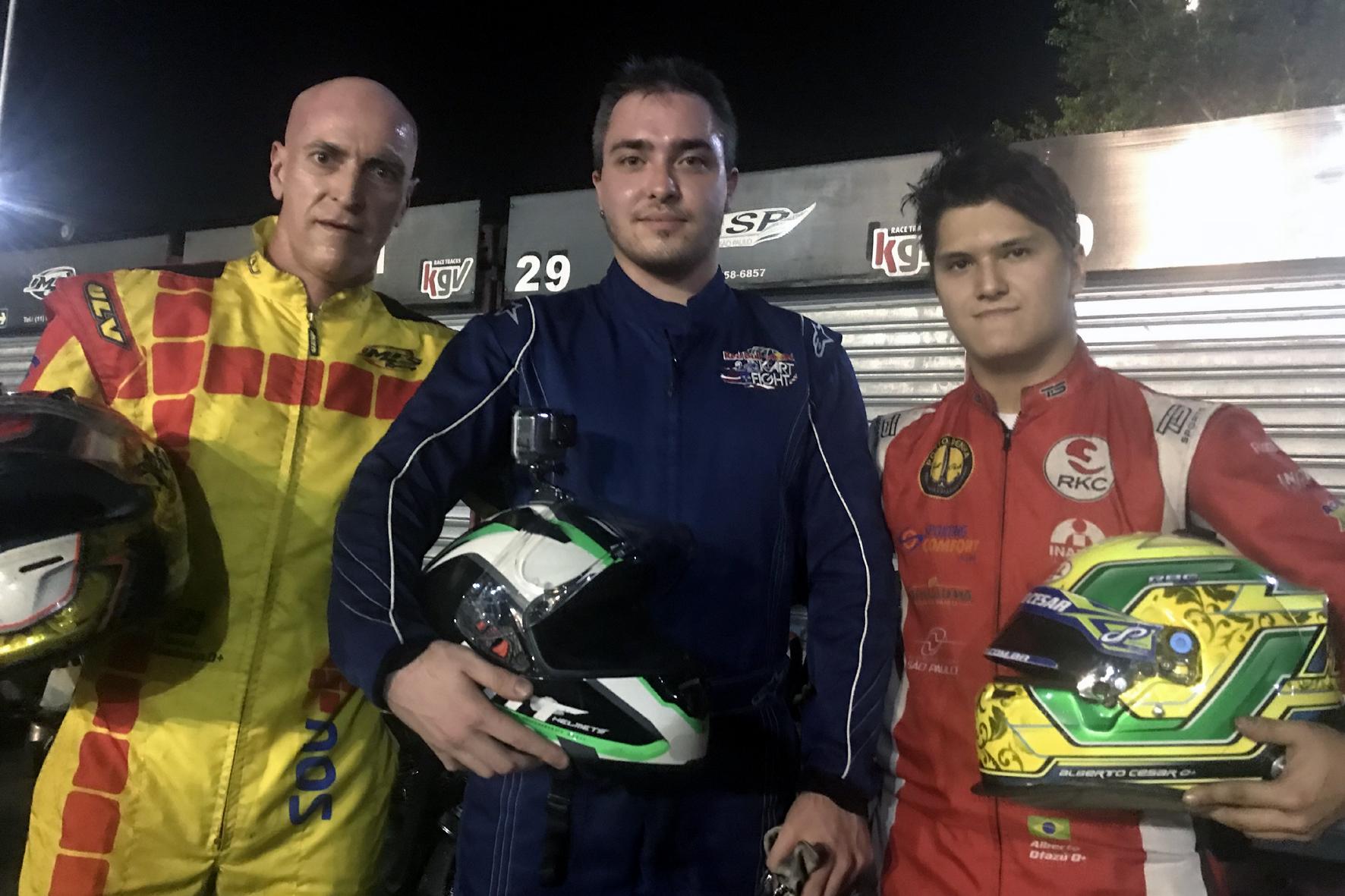 Photo of Kart – Akasp: Bruno Biondo/Emílio de Bisceglie lideram turno após vitória