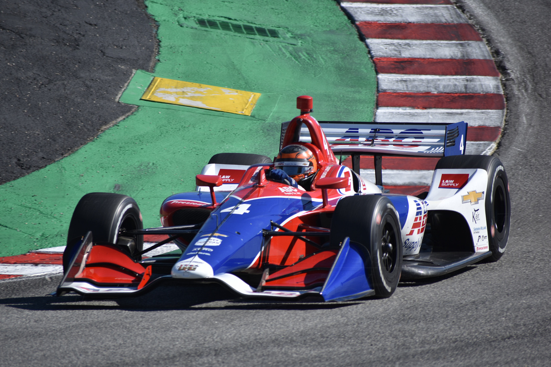 Photo of IndyCar – Matheus Leist termina primeira sessão de treinos livres no top-10