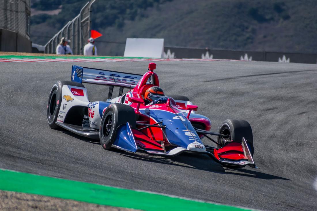 Photo of Indy Car – Em Laguna Seca, Matheus Leist encerra segunda temporada completa na Indy
