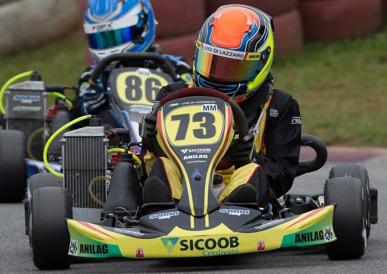 Photo of Kart – Luigi Di Lazzaro manteve liderança na Granja Viana após conquistar título de campeão brasileiro
