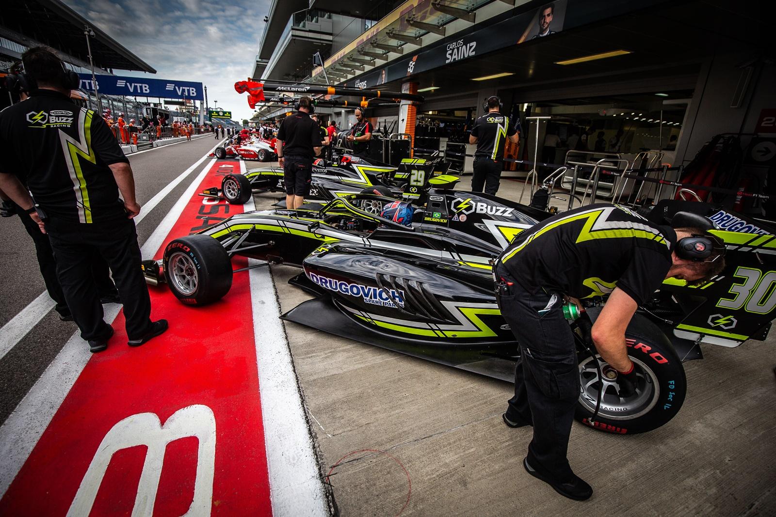 Photo of F3 – Felipe Drugovich encerrou sua temporada de estreia na Fórmula 3 FIA na Rússia