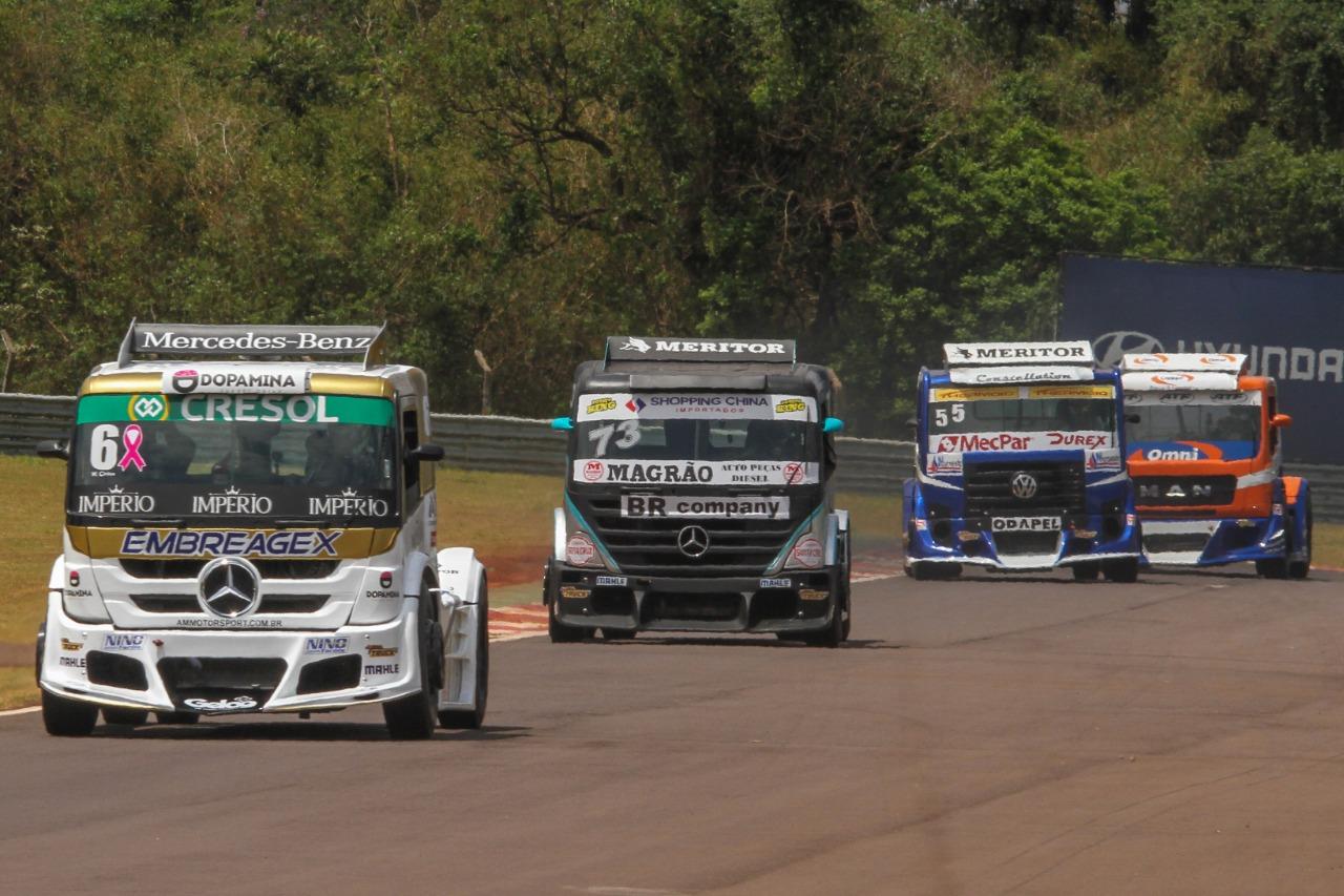 Photo of Truck – De cores novas, Cirino fecha sexta na frente em Cascavel