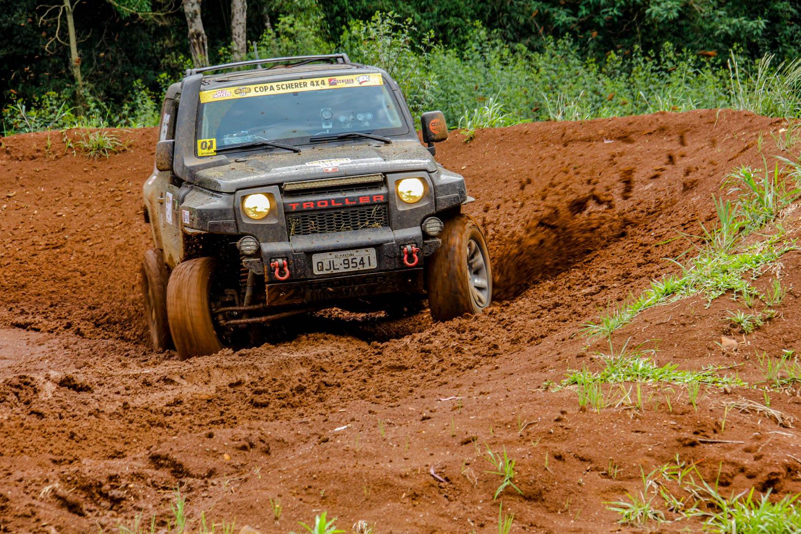 Photo of Rally – Copa Scherer 4×4 Carbon Free faz prova escorregadia e diverte pilotos em Caçador