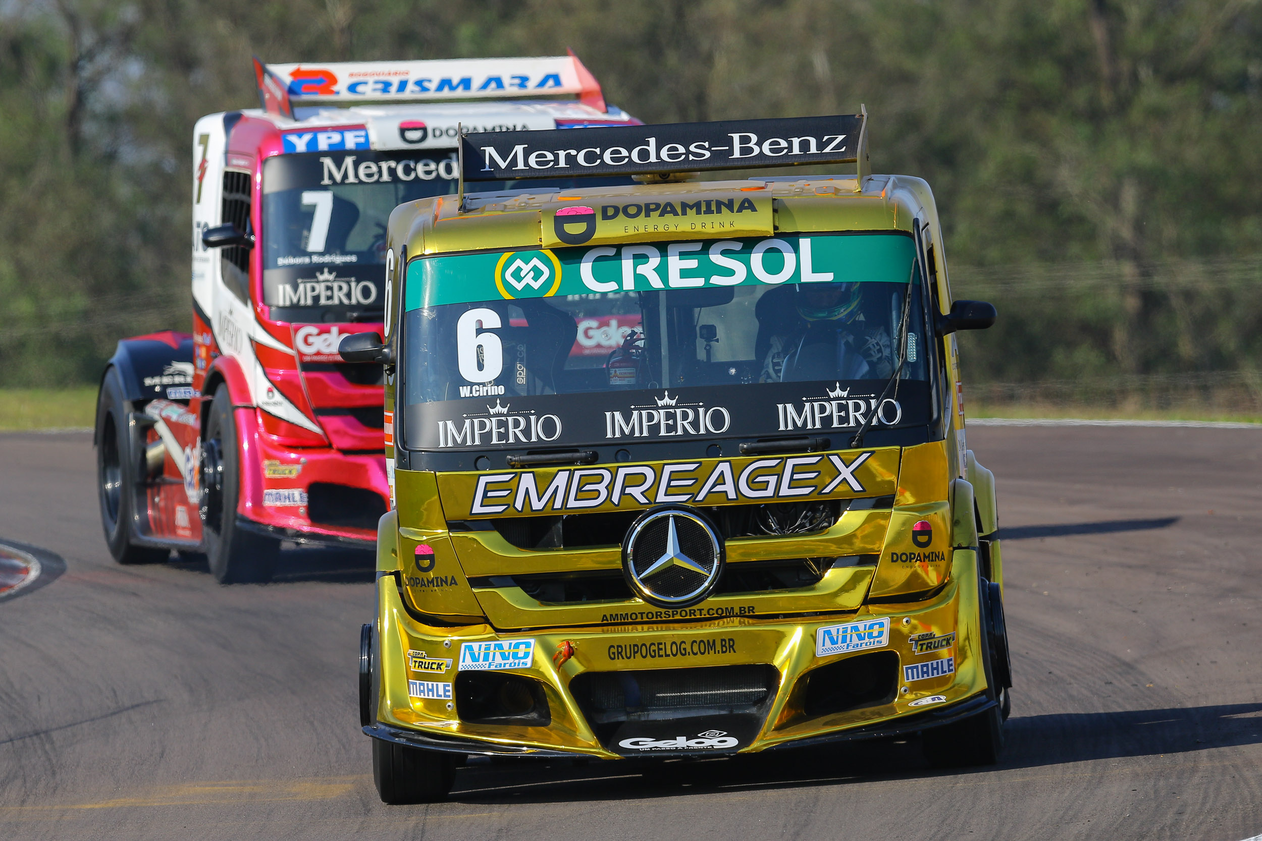 Photo of Truck – Cirino e Débora em busca de vaga na Grande Final