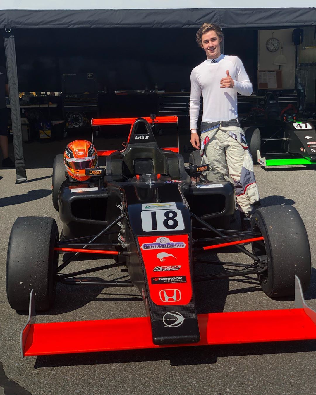 Photo of F4 – Arthur Leist encerra campeonato no top-5 após disputar preliminar da F1