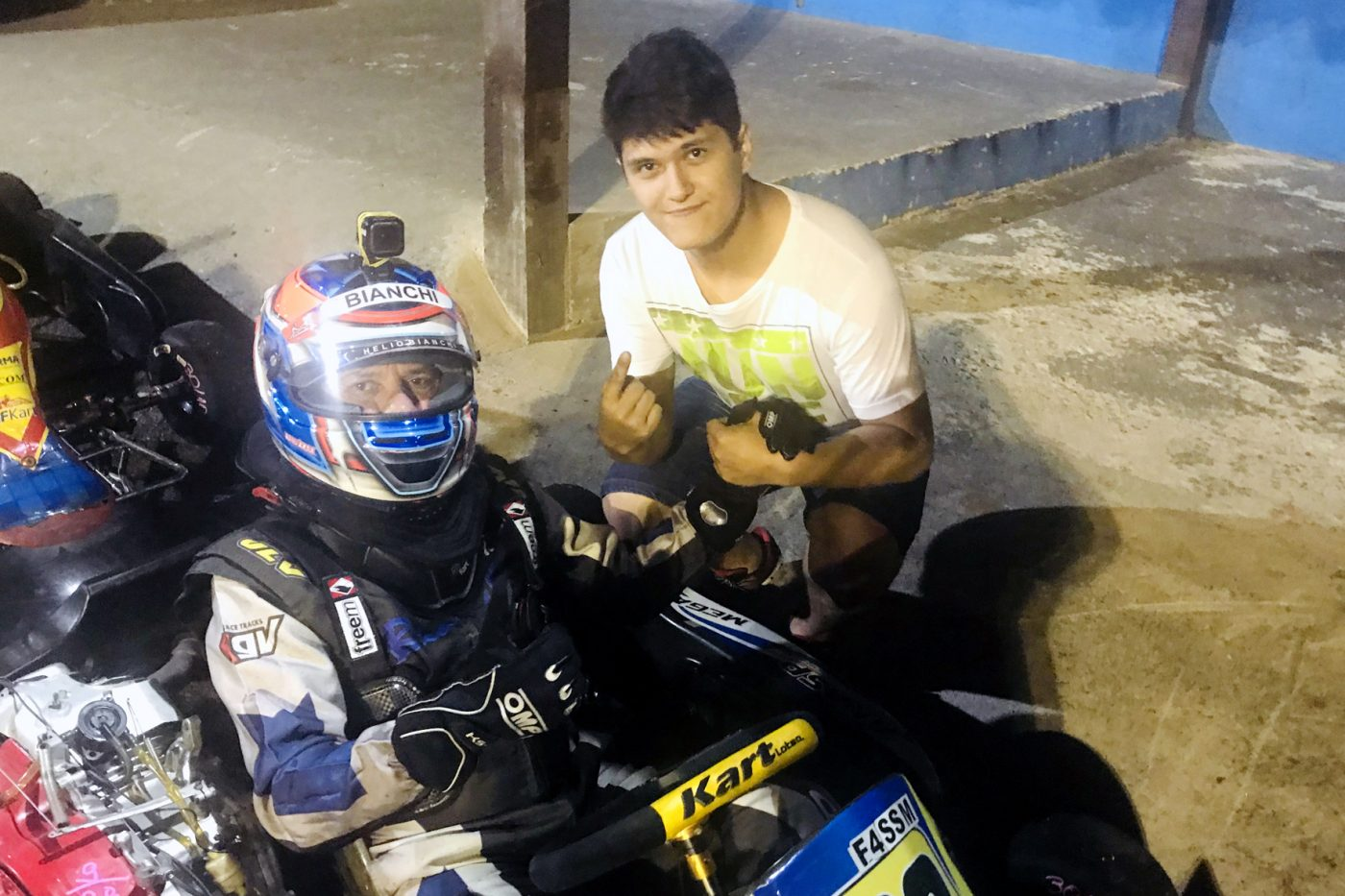 Photo of Kart – Dupla Bianchi/Otazú defende liderança na F-4 Akasp
