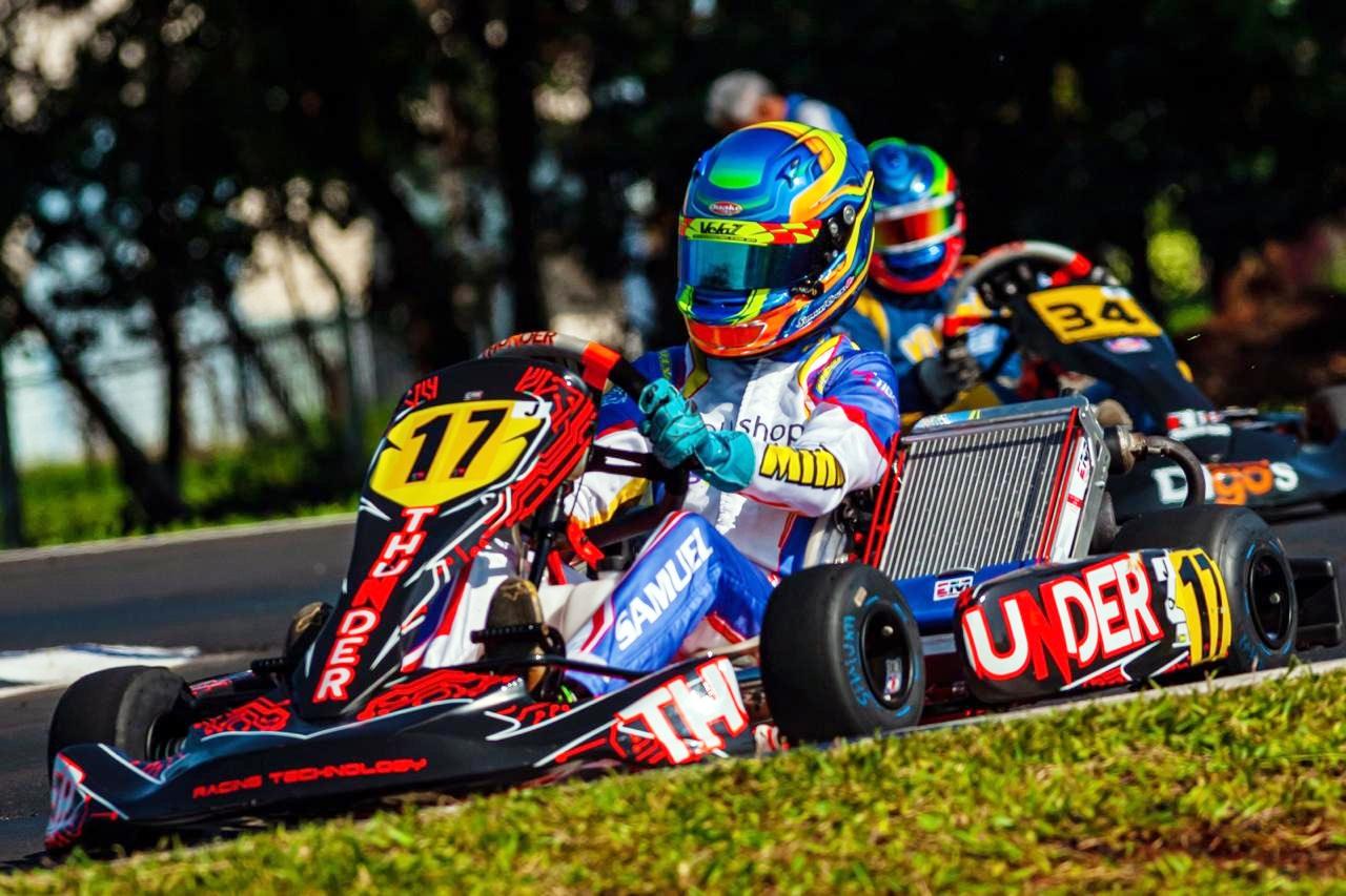 Photo of Kart – Samuel Cruz venceu em duas categorias e comemora dois títulos no Campeonato Paranaense de Kart