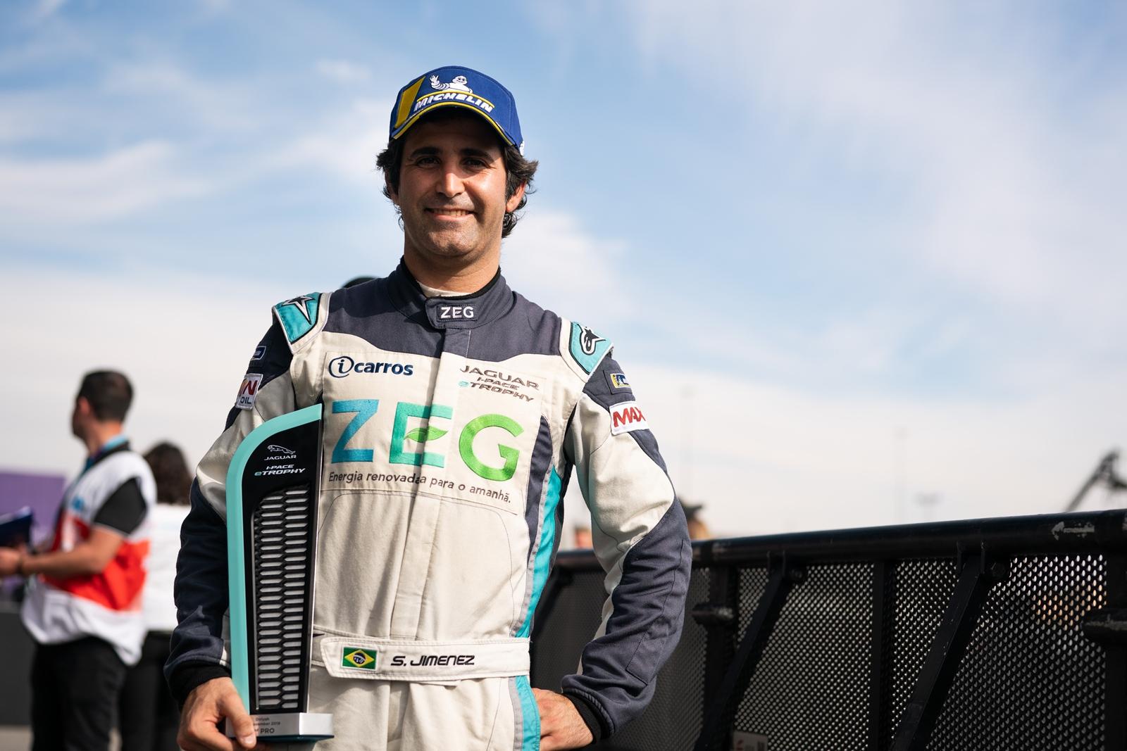 Photo of eTROPHY – Atual campeão, Sérgio Jimenez conquista pódio na abertura da 2ª temporada do Jaguar I-PACE eTROPHY