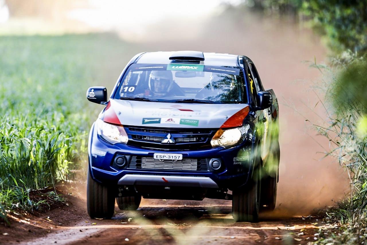 Photo of Rally – Edu Piano/Fausto Dallape partem para a final da Mitsubishi Cup já com a mão na taça