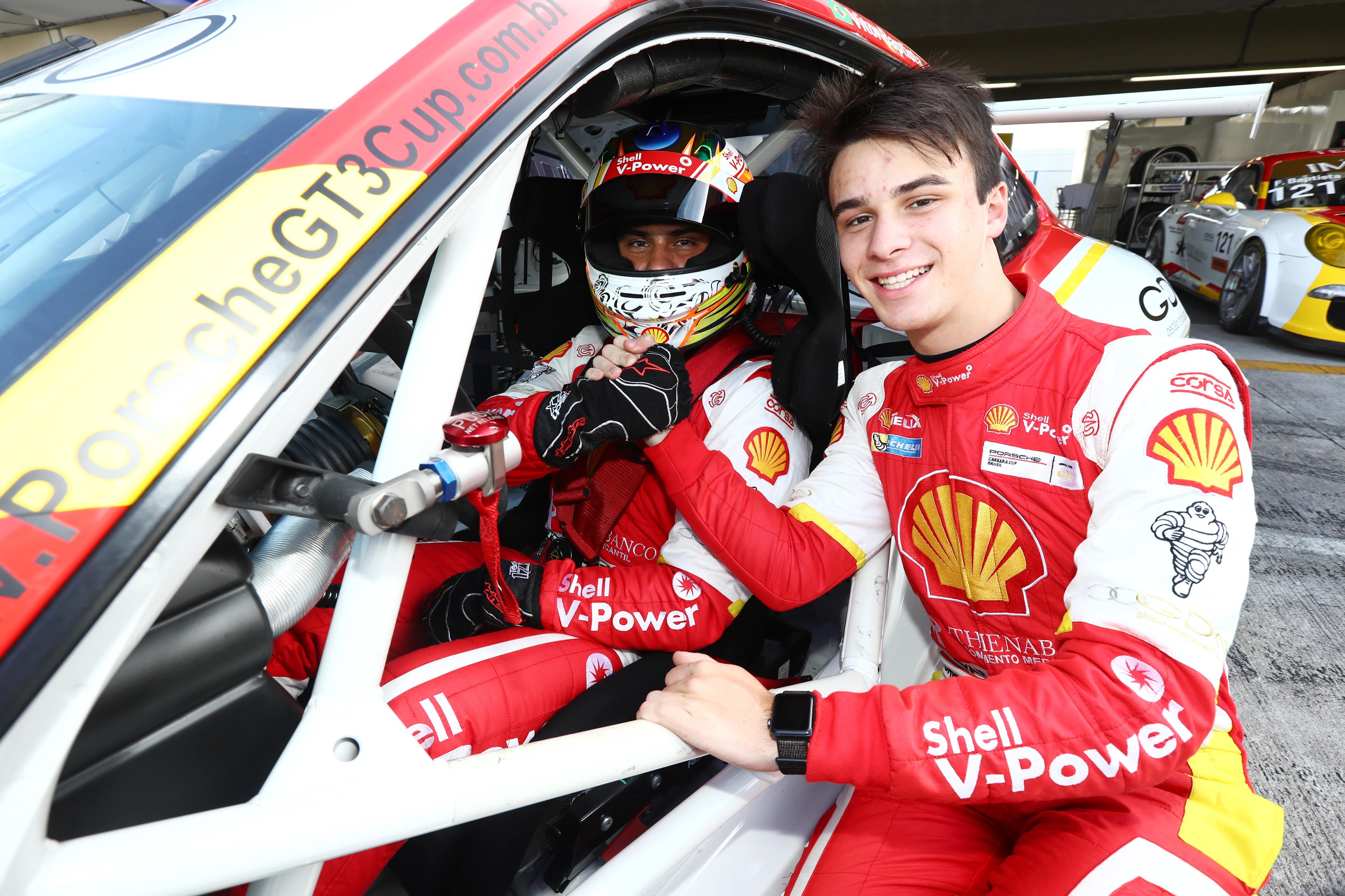 Photo of Porsche Cup – Com Felipe Baptista, Academia Shell corre em Interlagos visando manter o título na Porsche Cup