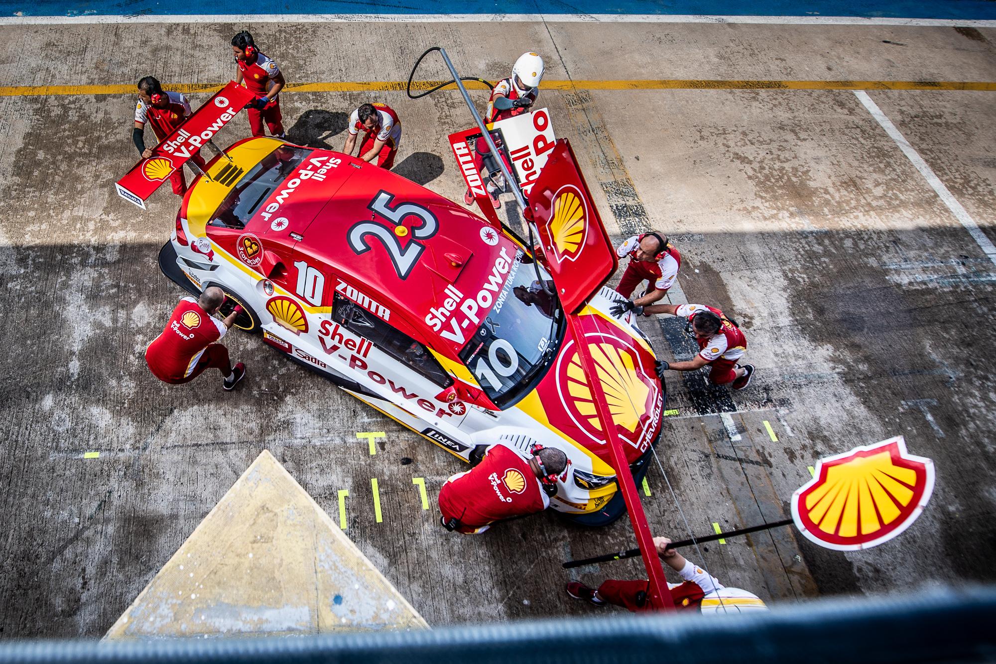 Photo of Stock Car – Shell coloca dois carros no top10 nas duas primeiras sessões de treinos livres em Goiânia