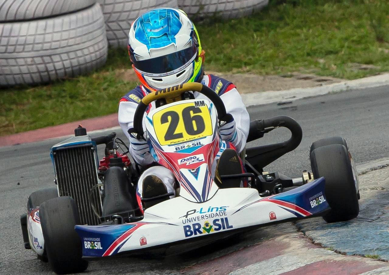 Photo of Kart – Pedro Lins encerrou sua participação na Copa São Paulo KGV de Kart com dois pódios na Rotax Mini Max