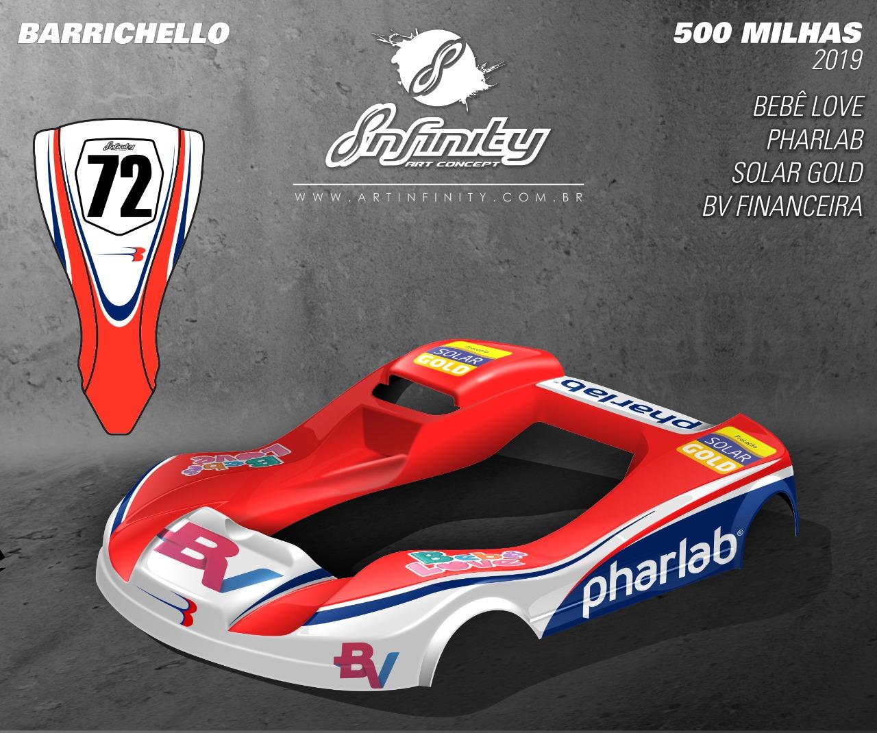 "Photo of Kart – Rubens Barrichello define pilotos nas 500 Milhas de Kart e cria ""kart família"" inédito"