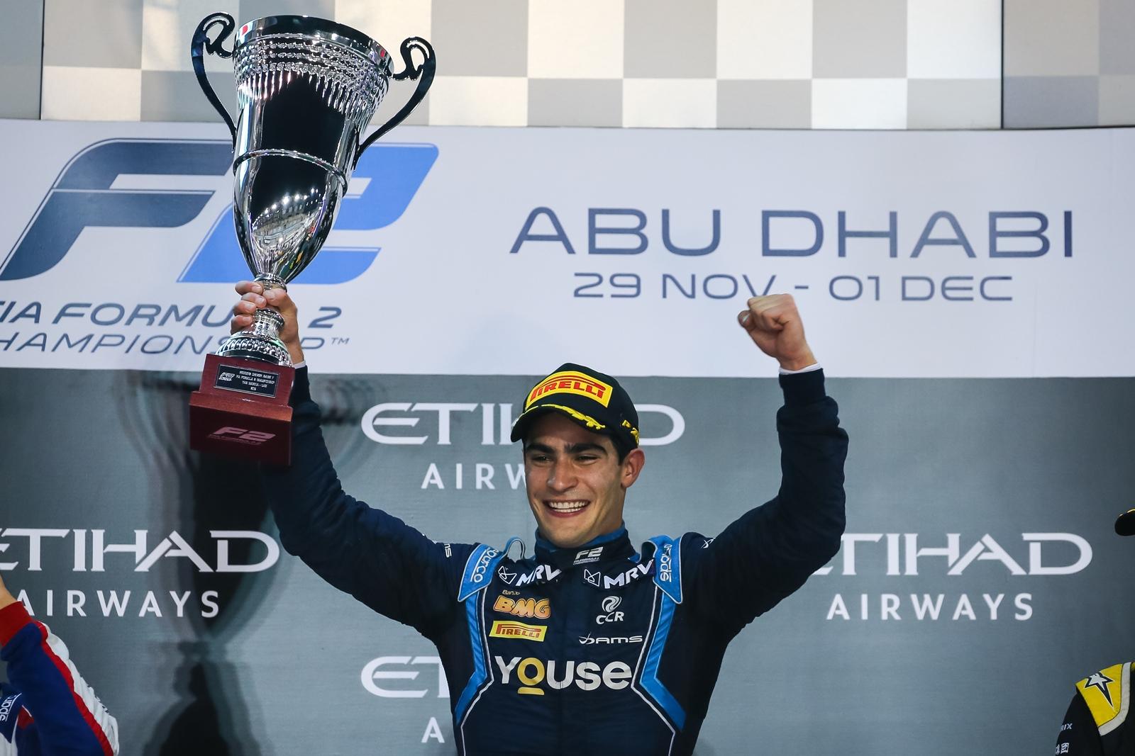 Photo of F2 – Sérgio Sette brilha em Abu-Dhabi e conquista a Superlicença para a F-1