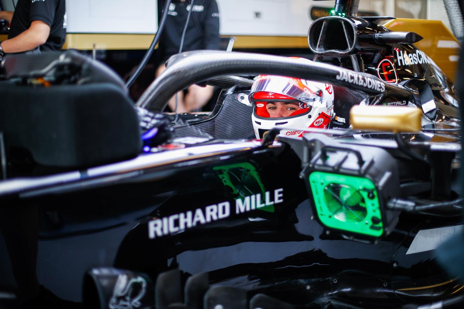 Photo of F1 – Pietro Fittipaldi completa 135 voltas e 750 km em teste com a Haas em Abu Dhabi
