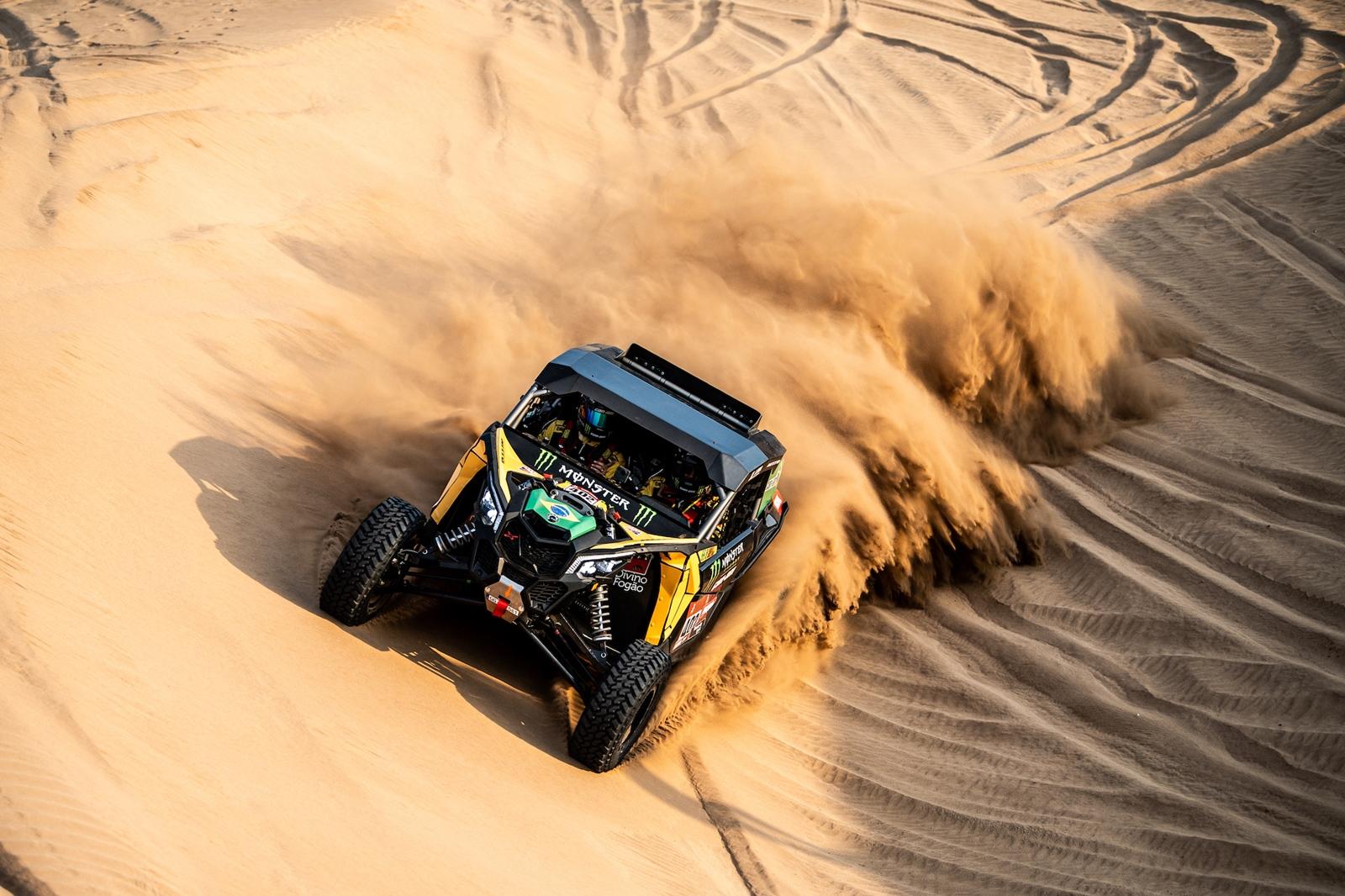 Photo of Rally – Dakar: em dia dramático, brasileiros fazem metade da prova sem volante