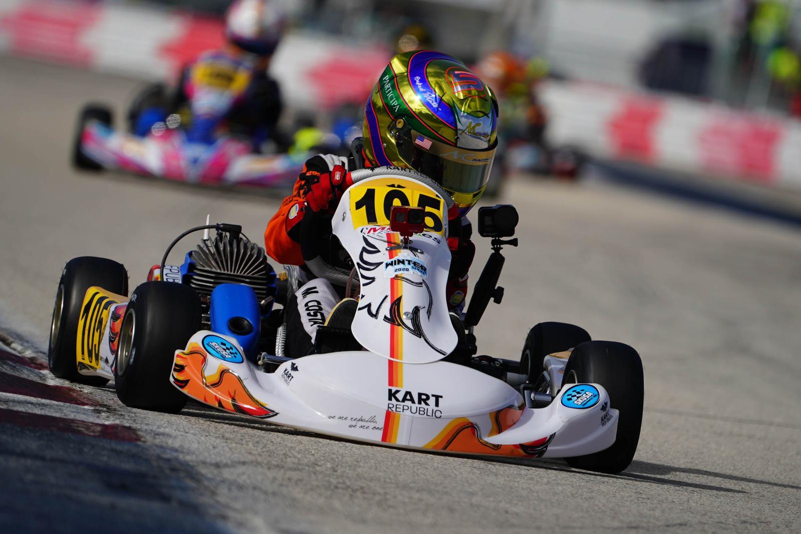 Photo of Kart – Miguel Costa mostra superação para conseguir top-5 na abertura do SKUSA em Miami