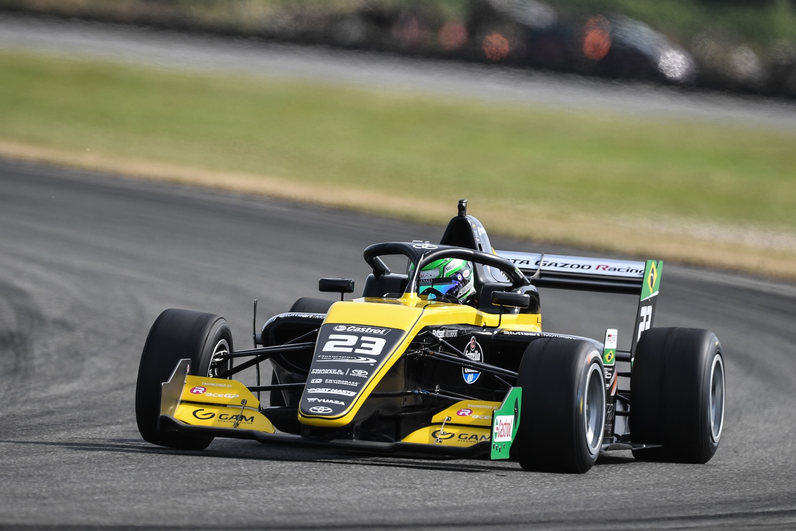 Photo of Toyota Racing Series – Com bela manobra na largada, Collet vence primeira prova em Teretonga Park