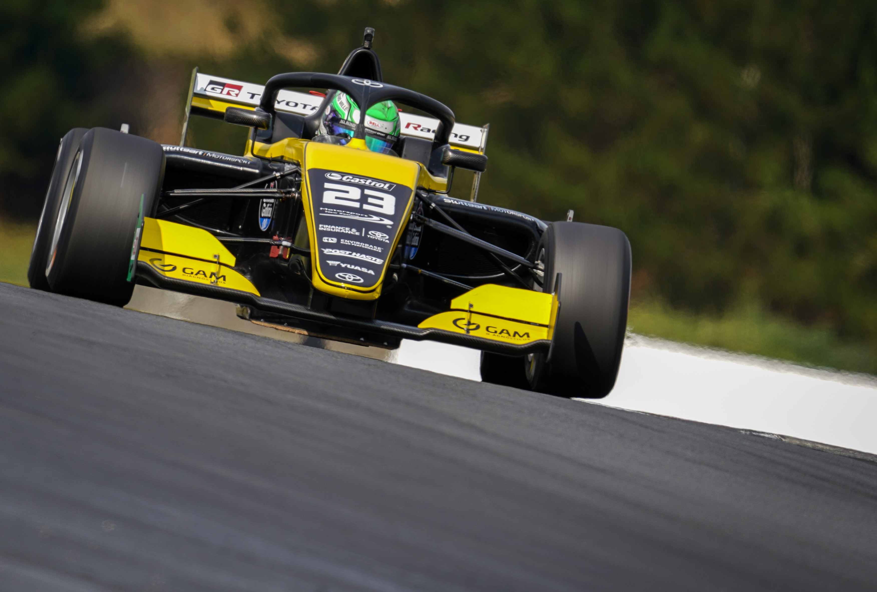 Photo of Toyota Racing Series – Caio Collet encerra etapa em Hampton Downs com três Top-6