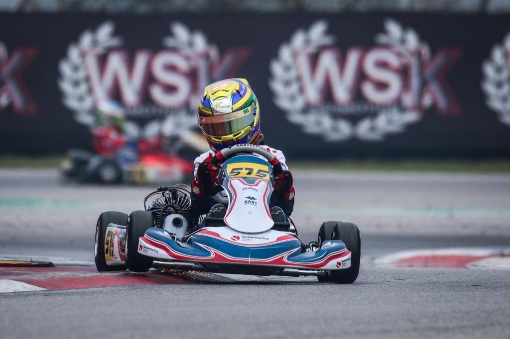 Photo of Kart – Miguel Costa é destaque no WSK Super Master com corridas de recuperação em Adria