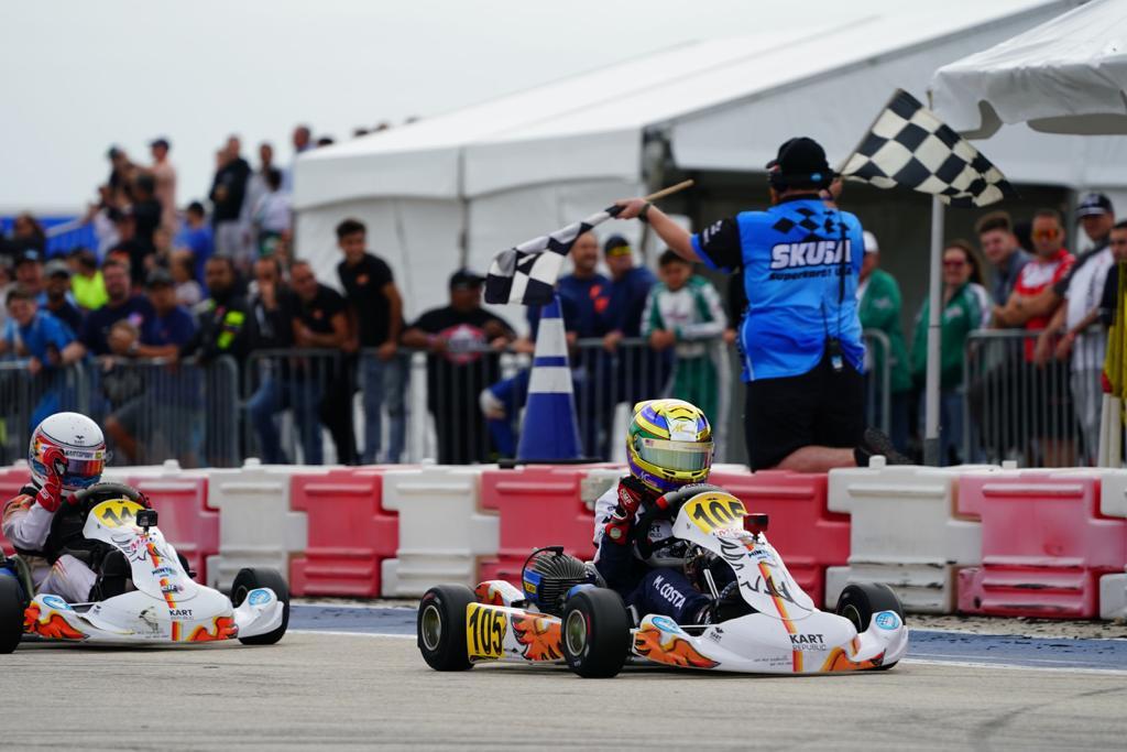 Photo of Kart – Miguel Costa é destaque no SKUSA com vitória e pódio em 1ª etapa nos EUA com a Sauber Karting Team