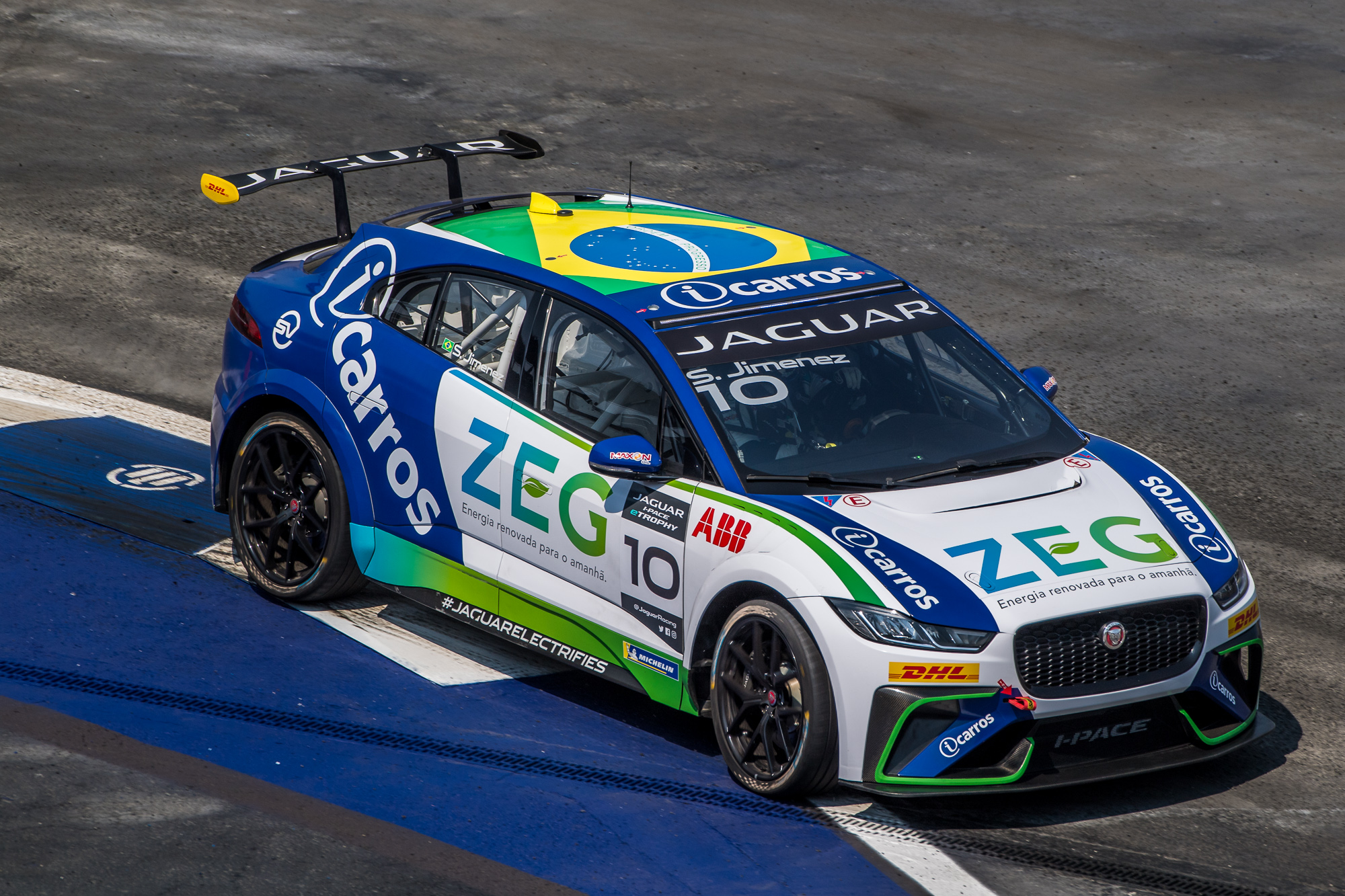 Photo of eTrophy – Sergio Jimenez larga na pole no México no Jaguar I-PACE eTROPHY