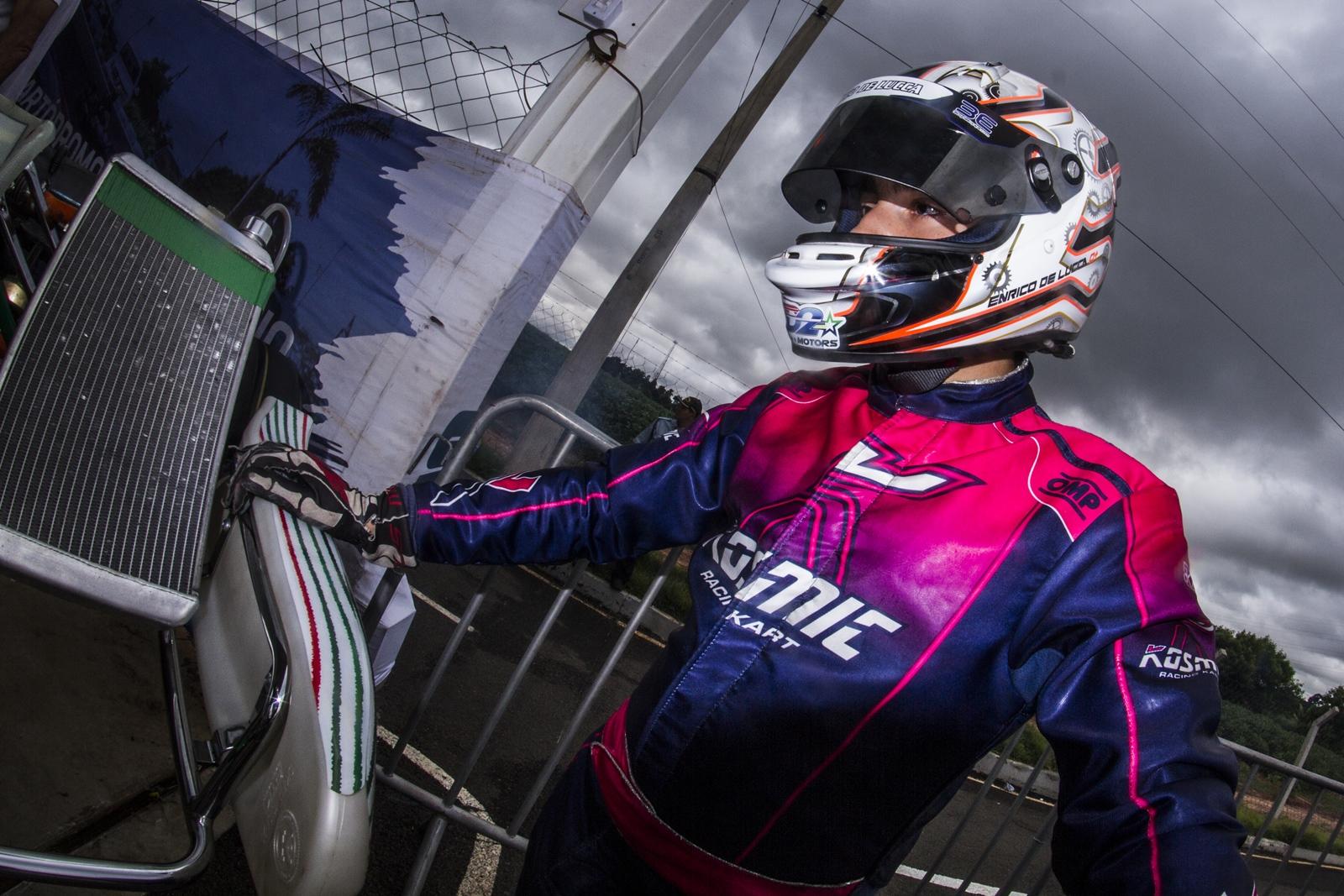 Photo of Kart – Enrico de Lucca encara rodada final do Skusa Winter Series em Homestead.