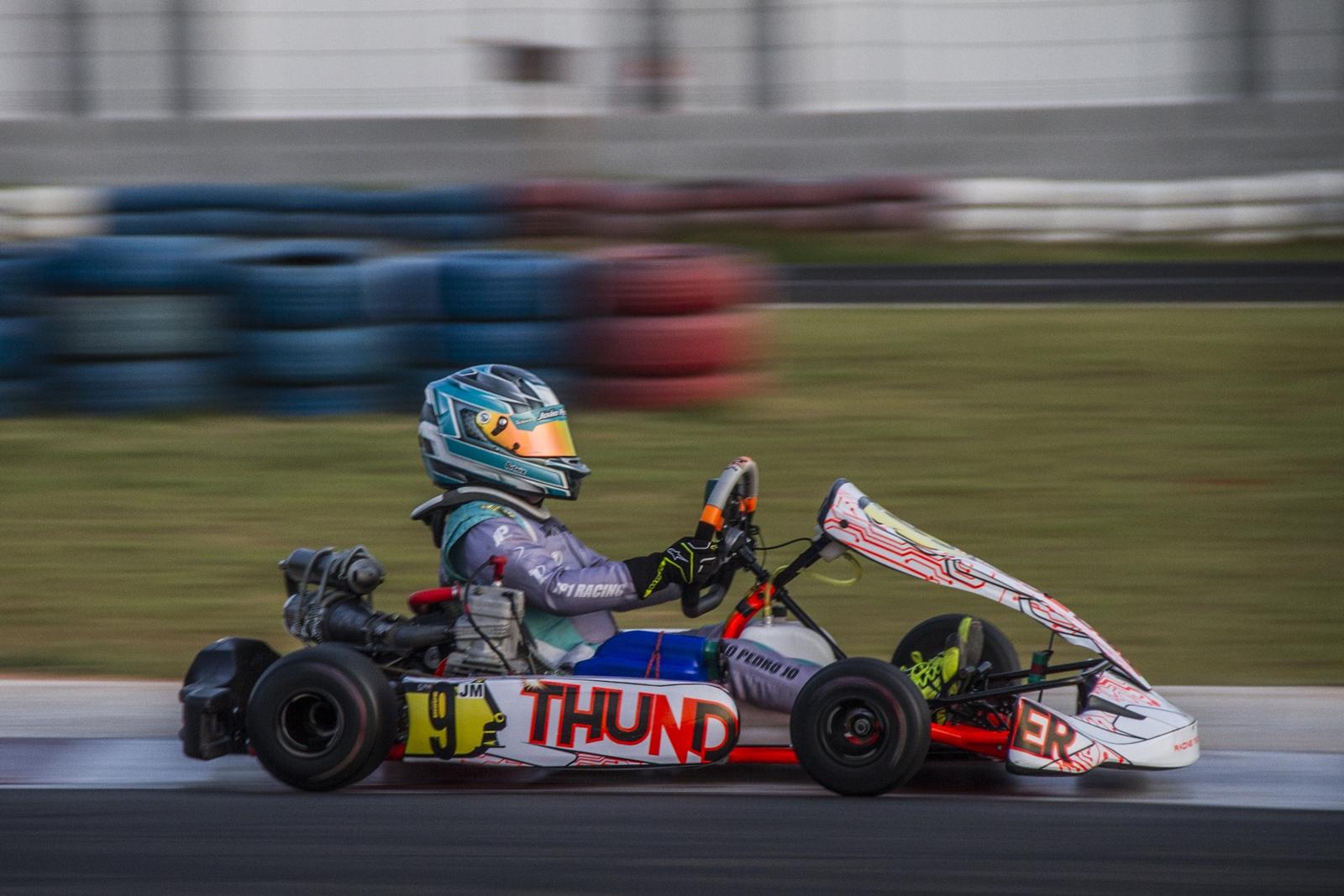 Photo of Kart – João Pedro Martins Jo conquista pódio em sua estreia pela Junior Menor no Troféu Ayrton Senna