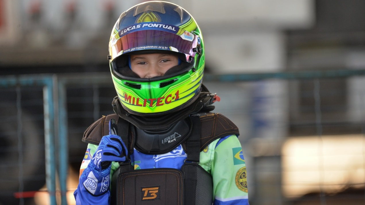 Photo of Kart – Piloto Lucas Pontual mira competição  Internacional no Bahrein