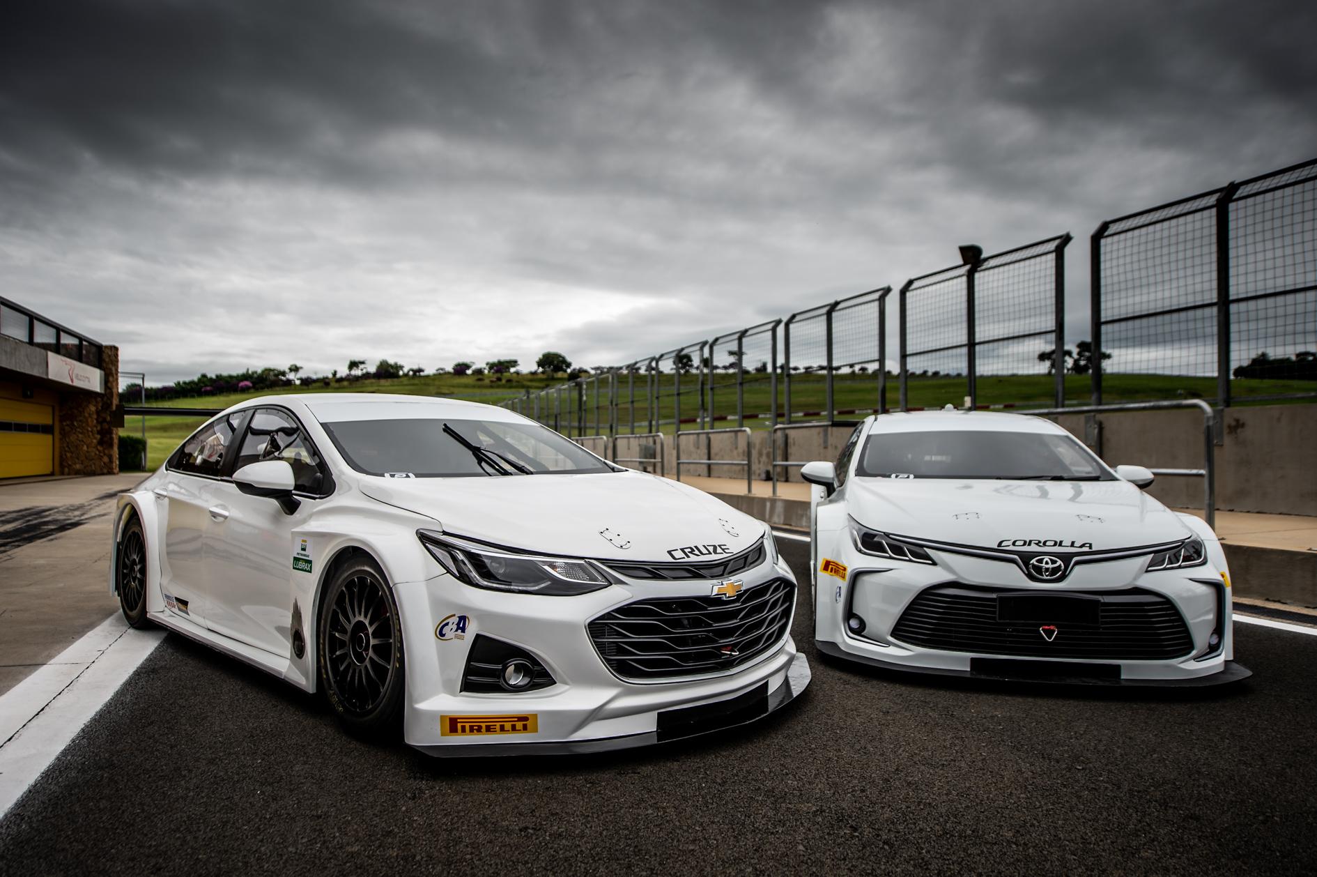 Photo of Stock Car – E Realizada o primeiro teste com os novos Corolla e Cruze