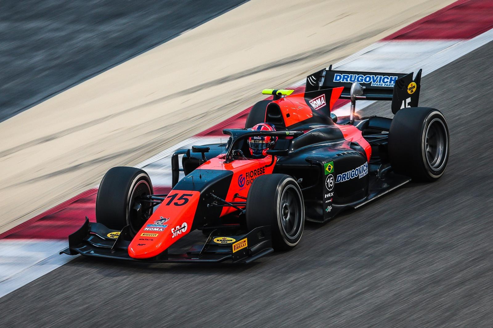Photo of F2 – Segundo no último treino, Felipe Drugovich encerrou a 1ª série de testes coletivos da Fórmula 2