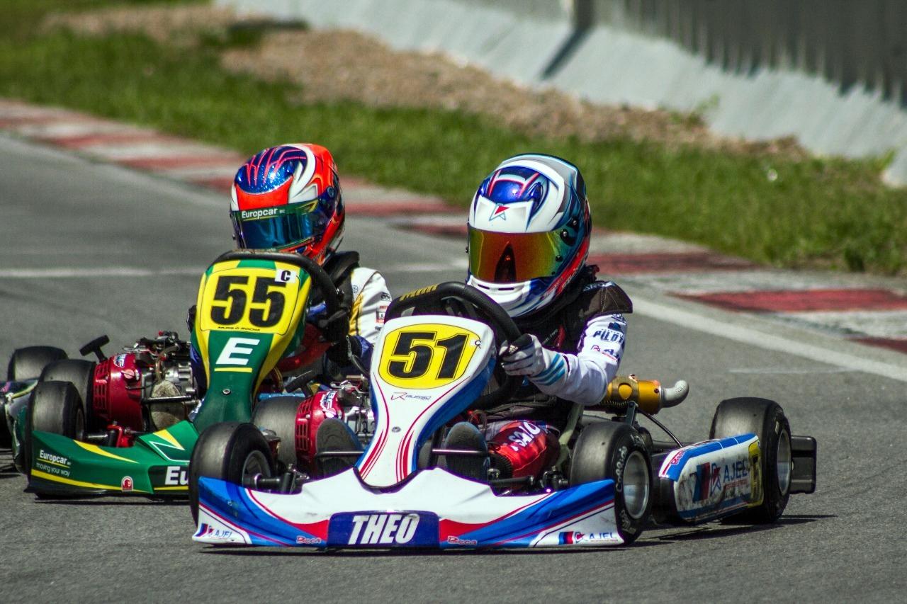 Photo of Kart – Theo Salomão superou problemas de motor para subir no pódio da Copa São Paulo Light de Kart