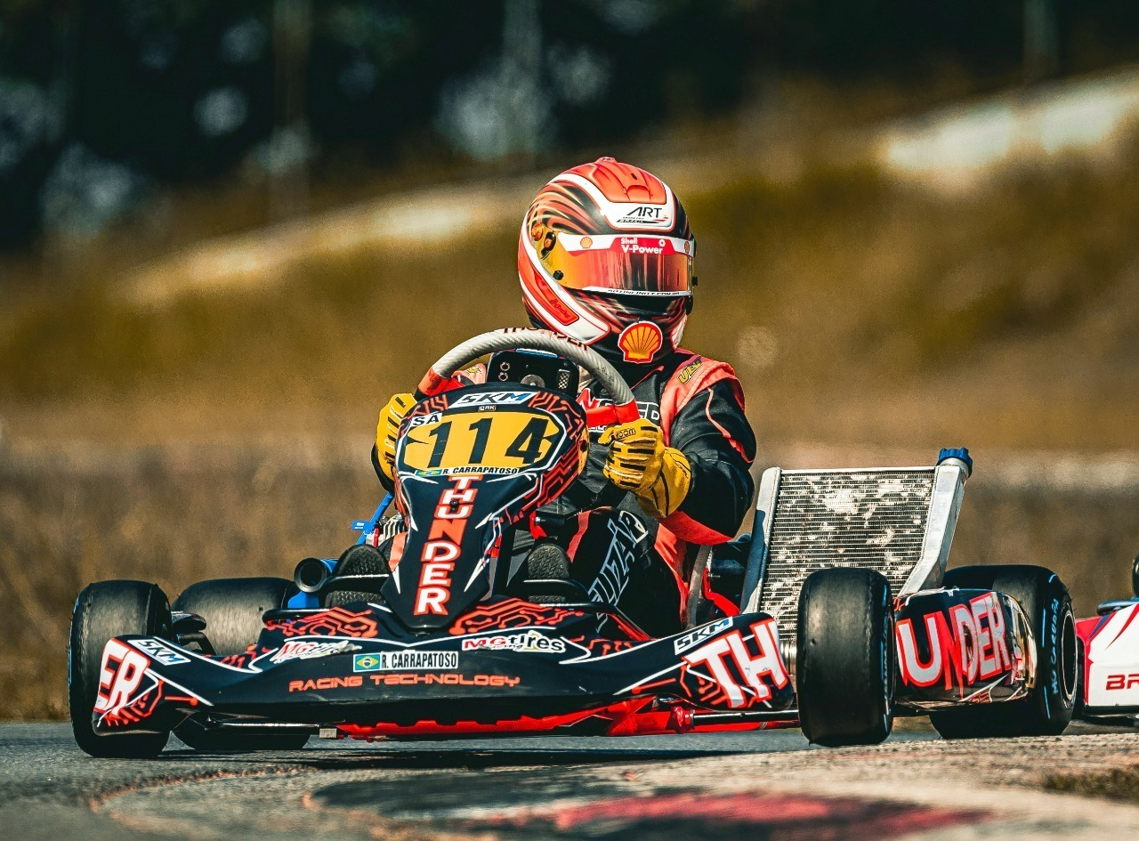 Photo of Kart – Ruben Carrapatoso deu início à parceria com a Thunder Technology em sua volta ao kartismo