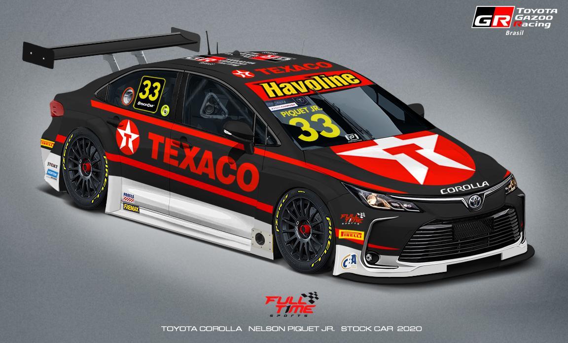 Photo of Stock Car – Full Time e Texaco renovam pela 7ª temporada seguida e seguem com Piquet pelo 3º ano na Stock Car