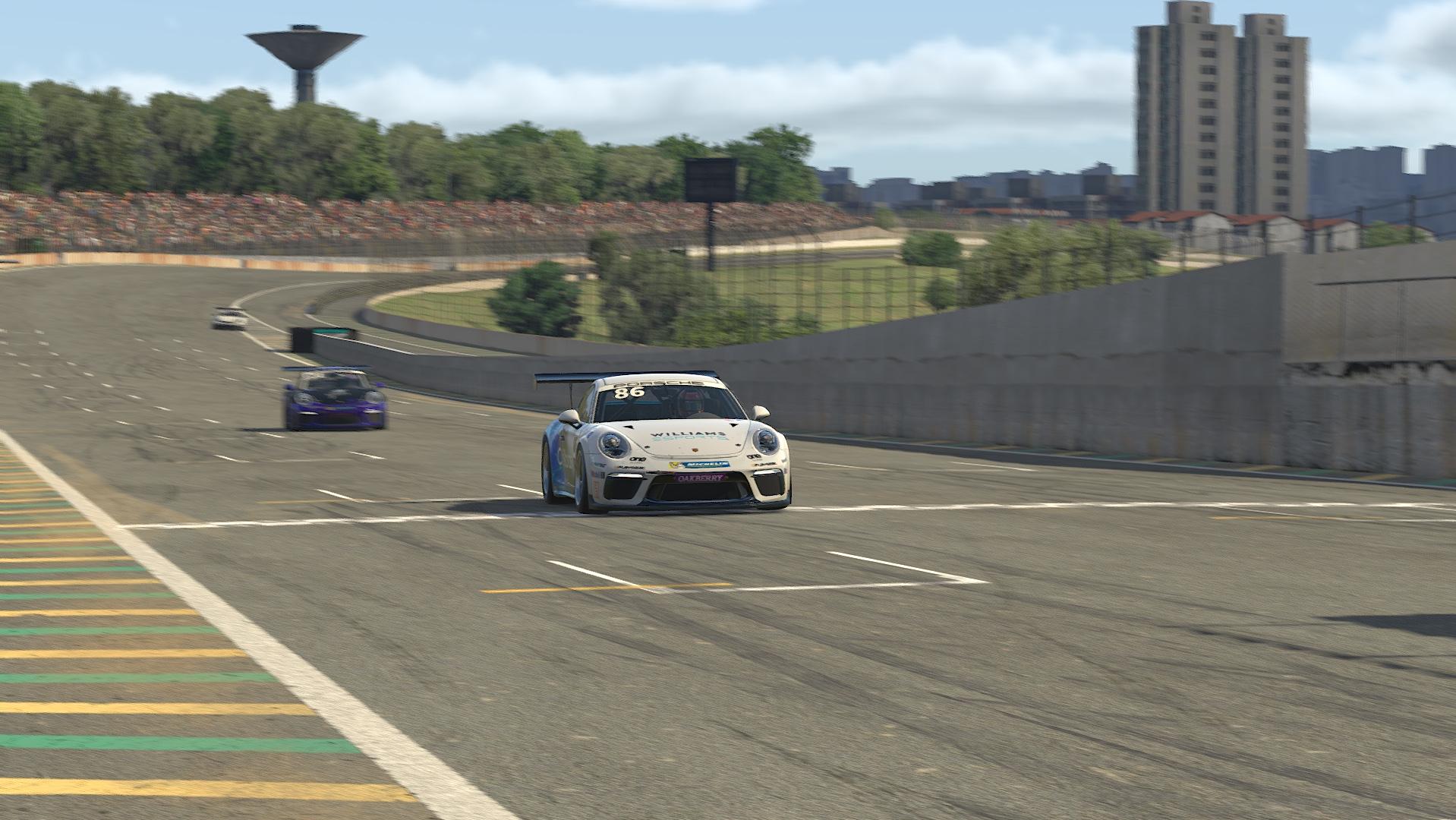 Photo of Vr-Racing : Agustín Canapino ganha a Corrida das Estrelas da Porsche Cup em automobilismo virtual
