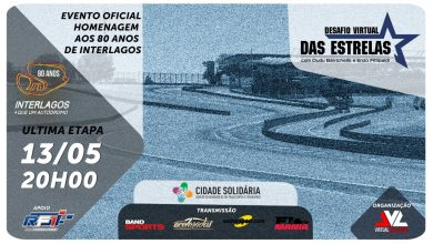 Photo of F3 – Final do Desafio Virtual das Estrelas celebra os 80 anos de Interlagos
