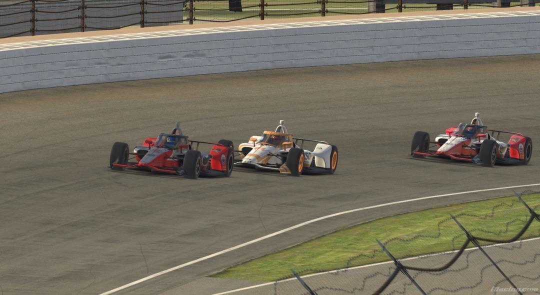 Photo of Triplice Coroa Virtual – Com Kanaan, Massa, Castroneves e grid de 26 estrelas, Dudu Barrichello vence Indy-500 virtual