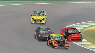 Photo of Turismo Nacional -TN Virtual: Troca de líderes em etapa dominada pelos Hyundai HB20