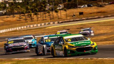 Photo of Stock Car – Pneu furado abrevia corrida de Campos em Goiânia