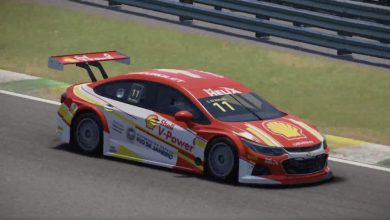 Photo of Stock Car Virtual – Aniversariante do dia, Gaetano di Mauro domina prova virtual da Stock Car em Interlagos com o carro Shell #11