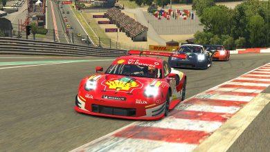 Photo of VRacing – Erick Goldner fecha mês com mais duas vitórias para a Shell guiando Porsches