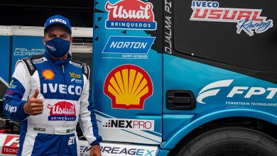 Photo of Truck – Shell entra na Copa Truck a bordo do caminhão de Djalma Pivetta
