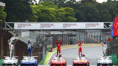Photo of Porsche Carrera Cup – Paludo e Feldmann vencem em Interlagos e são premiados em plena reta