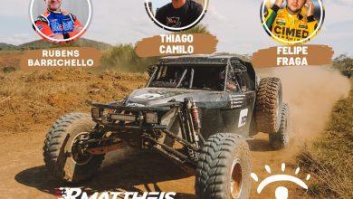 Photo of Rally – Rubens Barrichello, Thiago Camilo e Felipe Fraga estreiam no Sertões com equipe RMattheis