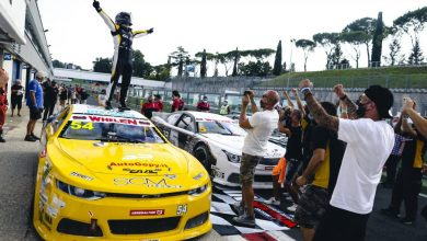 Photo of Euro Nascar – GIANMARCO ERCOLI RETORNA À VICTORY LANE EM CASA