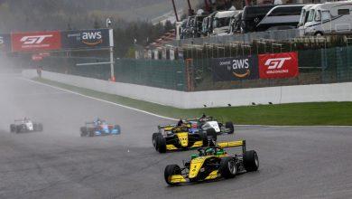 Photo of F-Renault Eurocup – Pista úmida cria dilema para pilotos e Caio Collet é sexto na corrida 2 em Spa