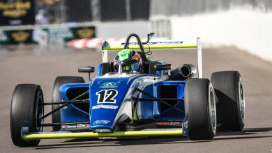 Photo of USF2000 – Kiko Porto larga na primeira fila, na ultima etapa da categoria em St. Petersburg