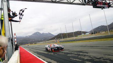 Photo of Euro Nascar – Vittorio Ghirelli lidera de bandeira em bandeira para vencer a primeira corrida da NASCAR no Autodromo Grobnik